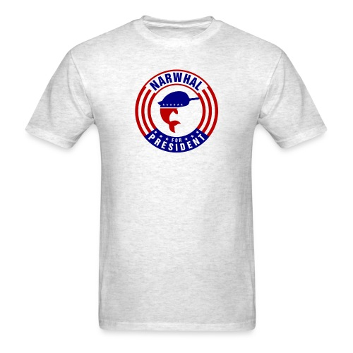 Narwhal 4 President 2 - Men's T-Shirt