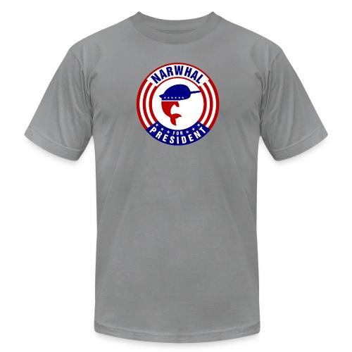 Narwhal 4 President 2 - Men's Fine Jersey T-Shirt