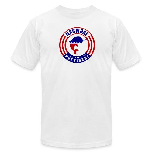 Narwhal 4 President 2 - Men's  Jersey T-Shirt
