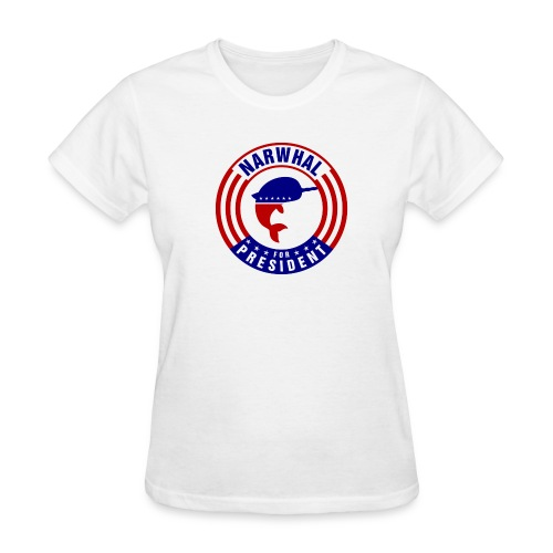 Narwhal 4 President 2 - Women's T-Shirt