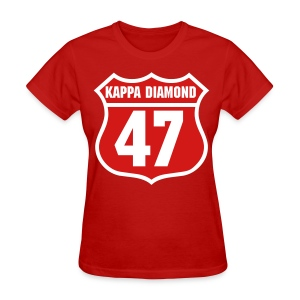 Kappa Diamond 47 - Women's T-Shirt