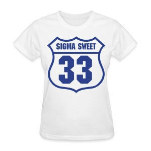 SIgma Sweet 33 - Women's T-Shirt