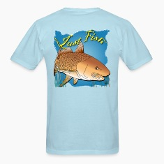 Just Fish Redfish blue