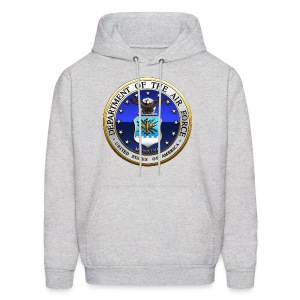 US Air Force (USAF) Seal - Men's Hoodie