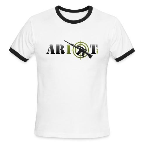 AR10T.com Ringer T-Shirt - Men's Ringer T-Shirt