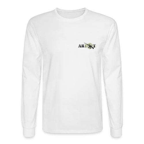 AR10T.com - Long Sleeve T-Shirt - Chest Logo - Men's Long Sleeve T-Shirt