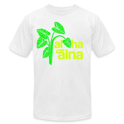 Aloha Aina - Neon - Men's Fine Jersey T-Shirt