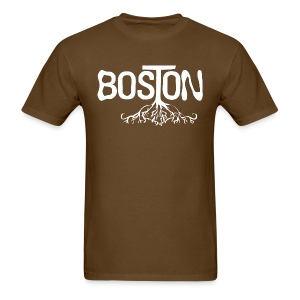 Boston Rooted - Men's T-Shirt