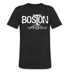 Boston Rooted - Unisex Tri-Blend T-Shirt by American Apparel