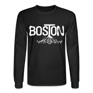 Boston Rooted - Men's Long Sleeve T-Shirt