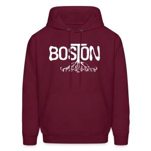 Boston Rooted - Men's Hoodie