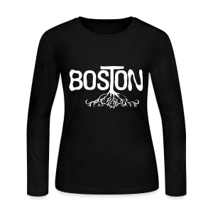 Boston Rooted - Women's Long Sleeve Jersey T-Shirt