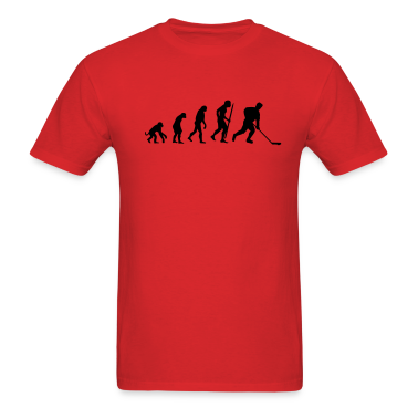 evolution of ice hockey T-Shirts