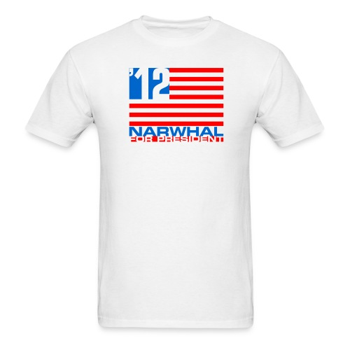 Narwhal Flag - Men's T-Shirt