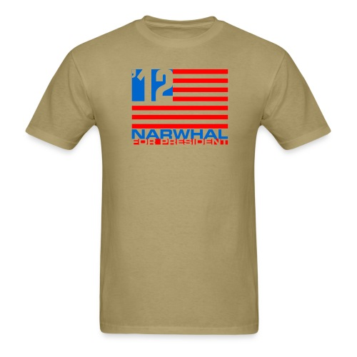 Narwhal Flag - Men's T-Shirt
