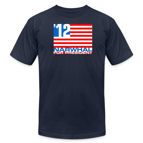 Narwhal Flag - Men's Fine Jersey T-Shirt