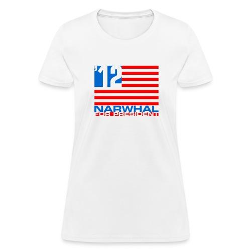Narwhal Flag - Women's T-Shirt