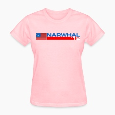 Narwhal Banner Women's T-Shirts