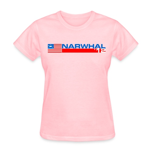 Narwhal Banner - Women's T-Shirt