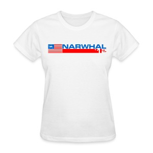 Narwhal Banner - Women's T-Shirt