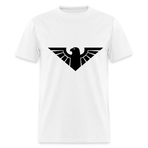 eagle       on front - Men's T-Shirt