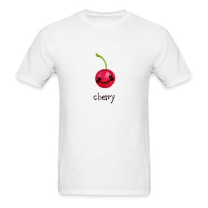 A Cherry Tee for Charity (Cheery Cherry) - Men's T-Shirt