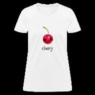 T-Shirts ~ Women's T-Shirt ~ A Cherry Tee for Charity (Cheery Cherry)