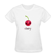 Women's T-Shirts ~ Women's T-Shirt ~ A Cherry Tee for Charity (Cheery Cherry)