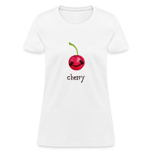 A Cherry Tee for Charity (Cheery Cherry) - Women's T-Shirt