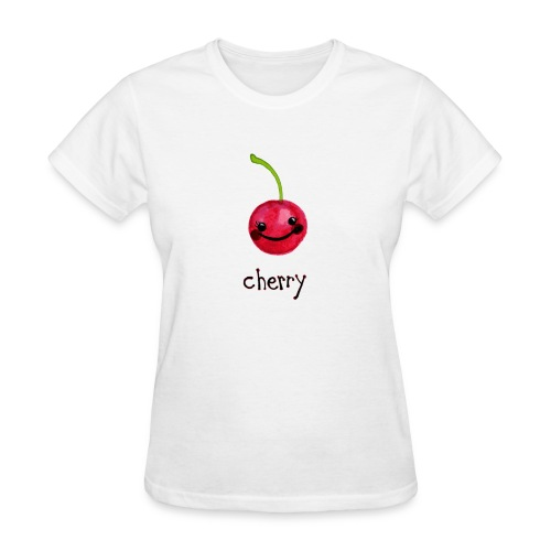 A Cherry Tee for Charity (Cheery Cherry) - Women's T-Shirt