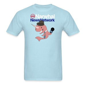 Narwhal News Network - Men's T-Shirt