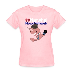 Narwhal News Network - Women's T-Shirt