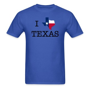 I Texas Texas - Men's T-Shirt