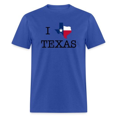 I Texas Texas - Men's T-Shirt