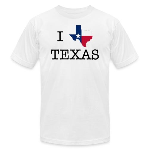 I Texas Texas - Men's Fine Jersey T-Shirt