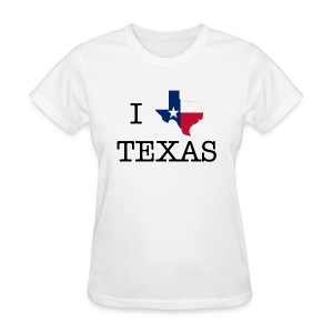I Texas Texas - Women's T-Shirt