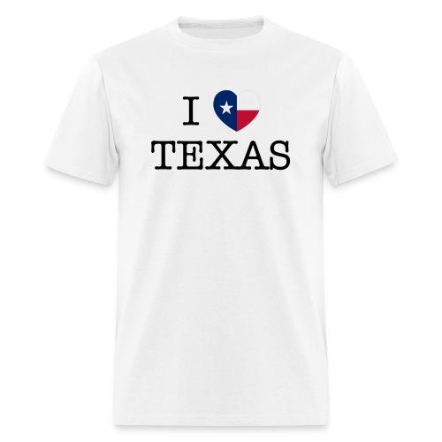 I Heart Texas - Men's T-Shirt