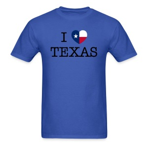I Heart Texas - Men's T-Shirt