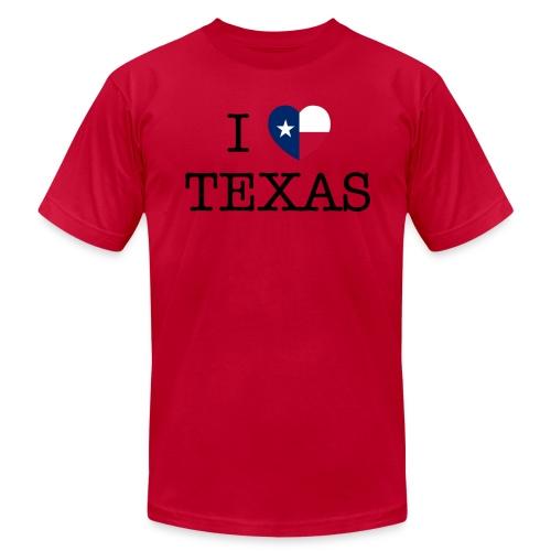 I Heart Texas - Men's Fine Jersey T-Shirt