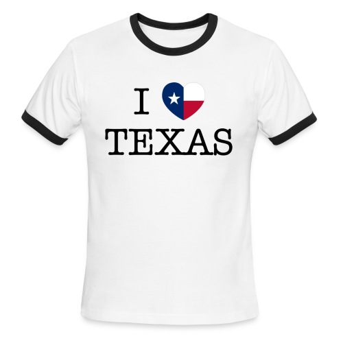 I Heart Texas - Men's Ringer T-Shirt