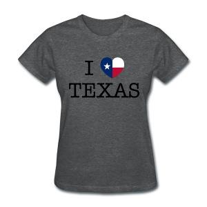 I Heart Texas - Women's T-Shirt