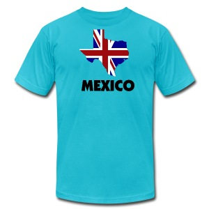 Brit Tex Mex - Men's T-Shirt by American Apparel