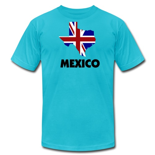 Brit Tex Mex - Men's Fine Jersey T-Shirt