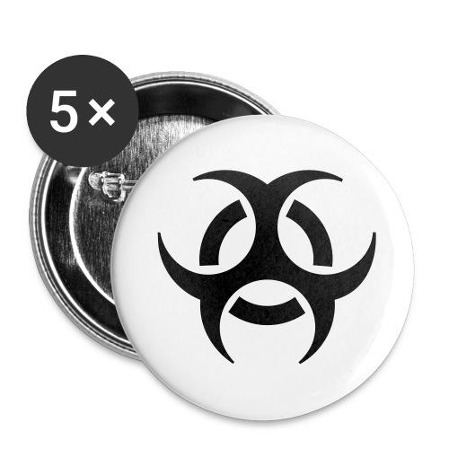 Large C.D.B.H. pins - Large Buttons