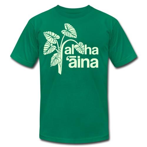 (Hawaiian) Aloha Aina - Men's Fine Jersey T-Shirt