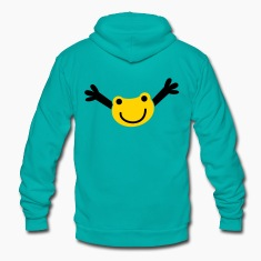 reaching frog cute Zip Hoodies/Jackets