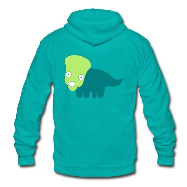 cute dino  Zip Hoodies/Jackets