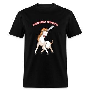 Chainsaw Unicorn! - Men's T-Shirt