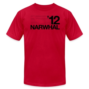 Narwhal 2012 - Men's T-Shirt by American Apparel