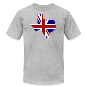 British Texas - Men's T-Shirt by American Apparel